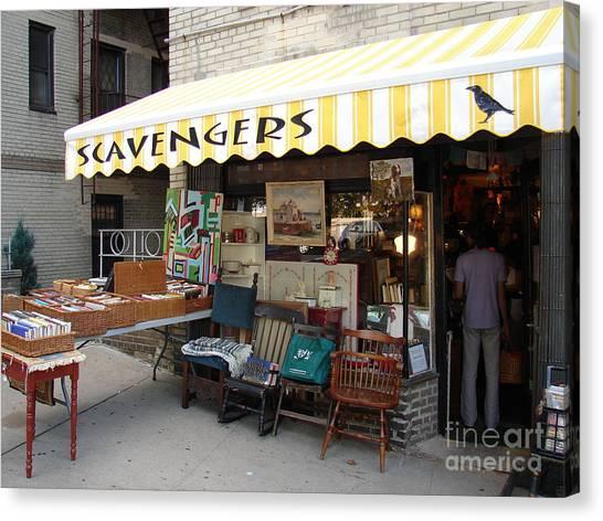 Scavengers Canvas Print