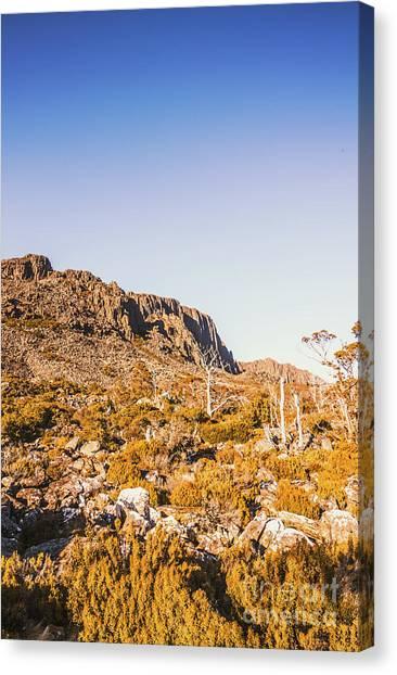 Arid Canvas Print - Scenic Barren Range by Jorgo Photography - Wall Art Gallery