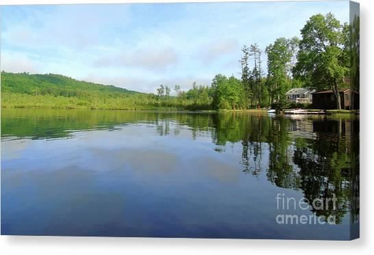 Scenic Gorham Pond #1 Canvas Print