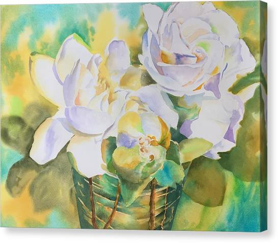 Scent Of Gardenias  Canvas Print