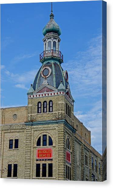 Schlitz Brewing Company 8 Canvas Print