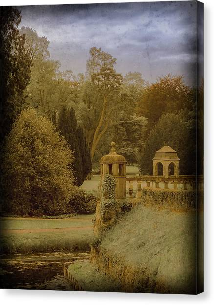 Canvas Print featuring the photograph Juchen, Germany - Schloss Dyck English Garden by Mark Forte