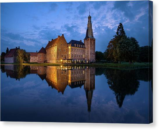 Schloss Raesfeld Canvas Print
