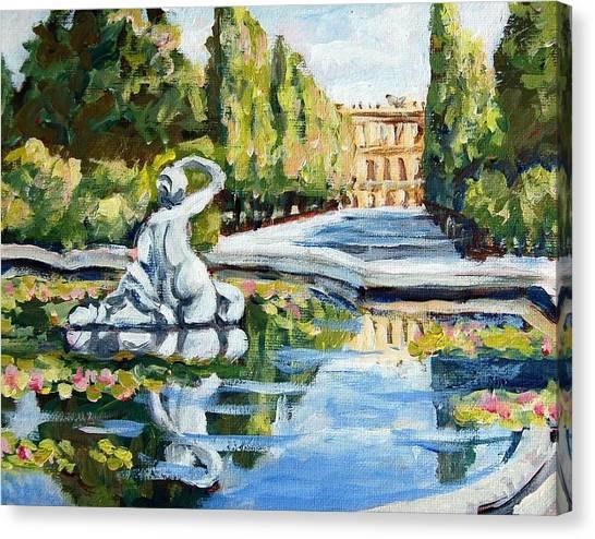 Schoenbrunn Palace Canvas Print