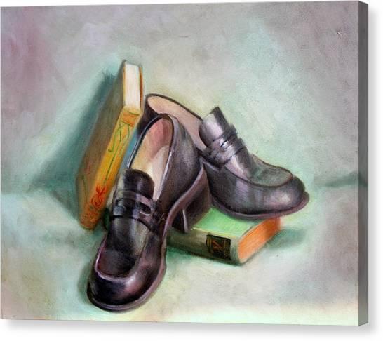 Scholar Canvas Print by Athena Mantle