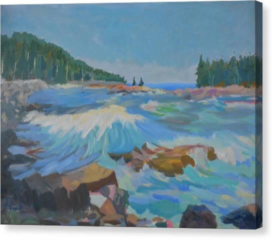Schoodic Inlet Canvas Print