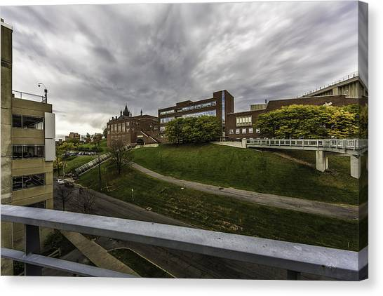 Syracuse University Canvas Print - School On The Hill by Everet Regal
