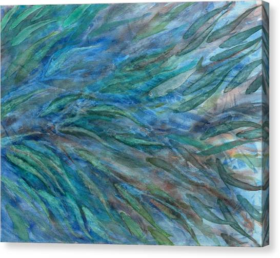 Schooling Canvas Print