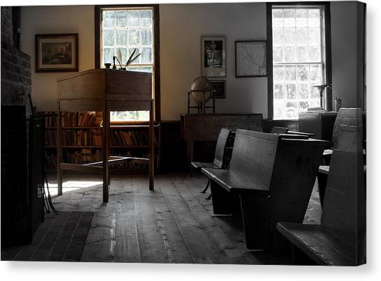 Schoolroom 1 Canvas Print by Lois Lepisto