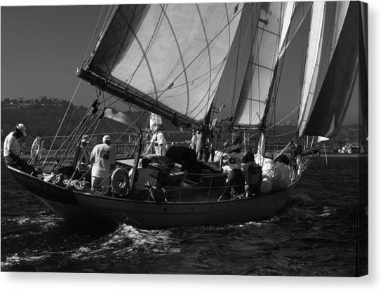 Schooner Dauntless Canvas Print