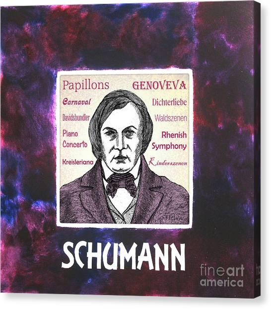 Schumann Canvas Print by Paul Helm