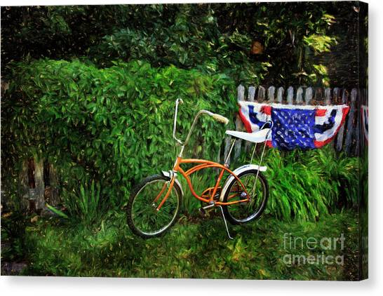 Schwinn Deluxe Stingray 65 Canvas Print