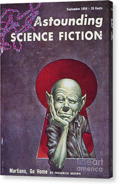 Artcom Canvas Print - Science Fiction Cover, 1954 by Granger