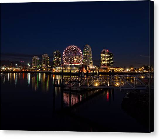 Science World Nocturnal Canvas Print