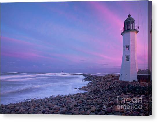 Scituate Sunset  Canvas Print