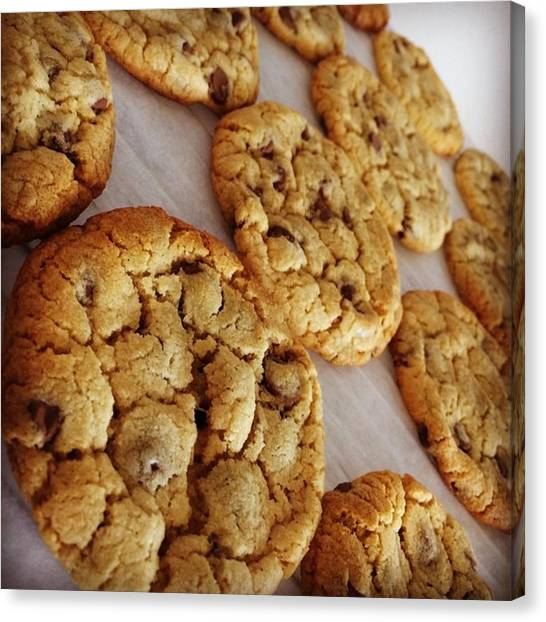 Meals Canvas Print - Scoff's Special Chocolate Chip by Scoff Cakes