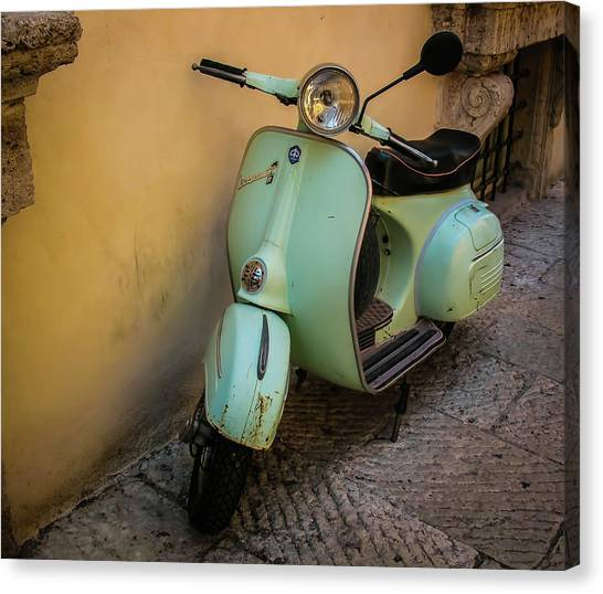 Canvas Print - Scooter by Elijah Knight