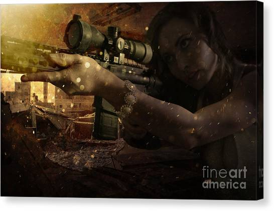 Scopped Canvas Print