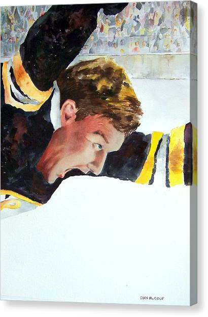 Bobby Orr Canvas Print - Score by Dan McCole