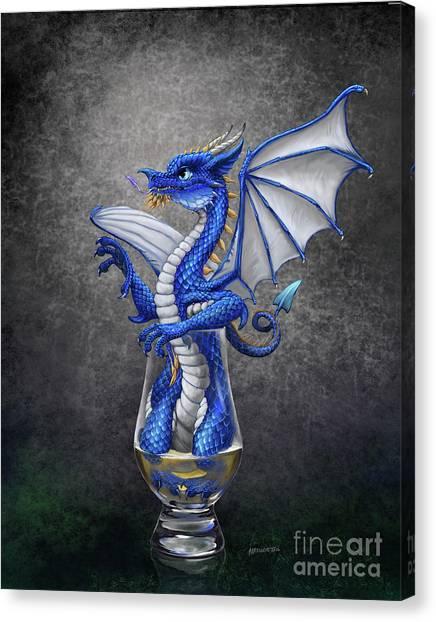 Scotch Canvas Print - Scotch Dragon by Stanley Morrison