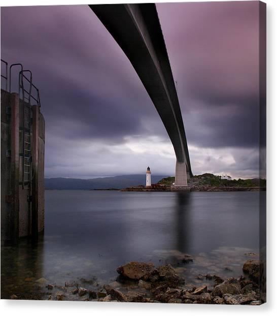 Bridge Canvas Print - Scotland Skye Bridge by Nina Papiorek