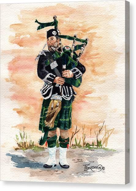 Scotland The Brave Canvas Print