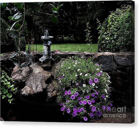 Scotopic Vision 2 - The Porch Canvas Print