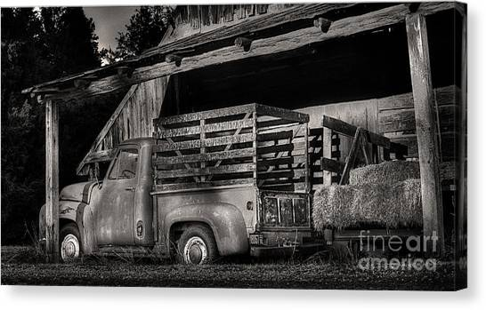 Scotopic Vision 5 - The Barn Canvas Print