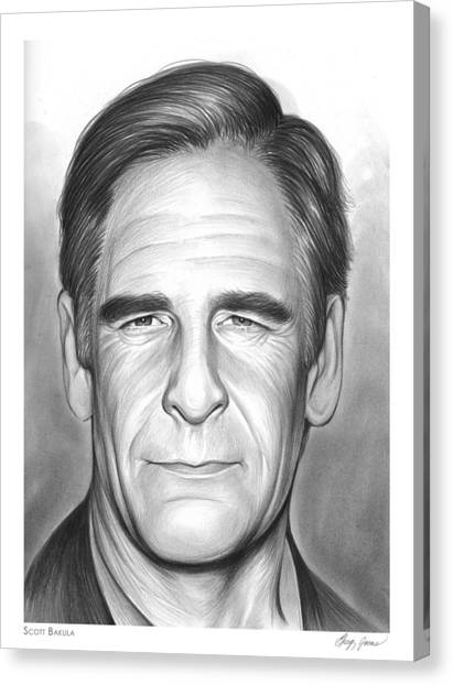Star Trek Canvas Print - Scott Bakula by Greg Joens