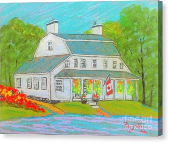 Scott Manor House  Canvas Print