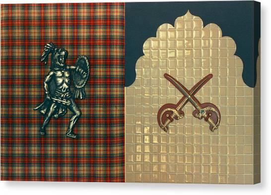 Scottish Arabian Canvas Print by Paul Knotter