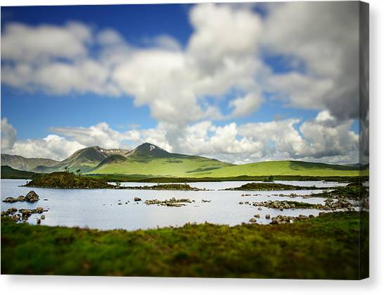 Countryside Canvas Print - Scottish Highlands by Sarah Coppola
