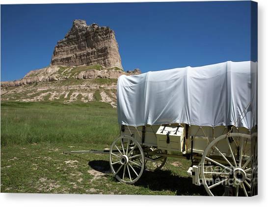 Scotts Bluff National Monument Nebraska Canvas Print