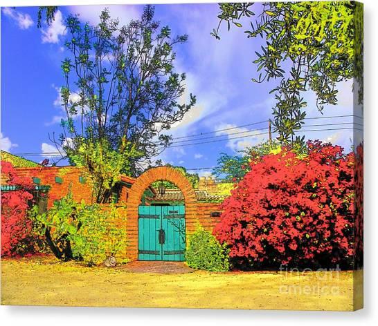 Scottsdale Gate Canvas Print