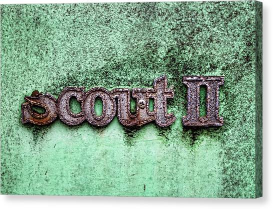 Scout II Canvas Print