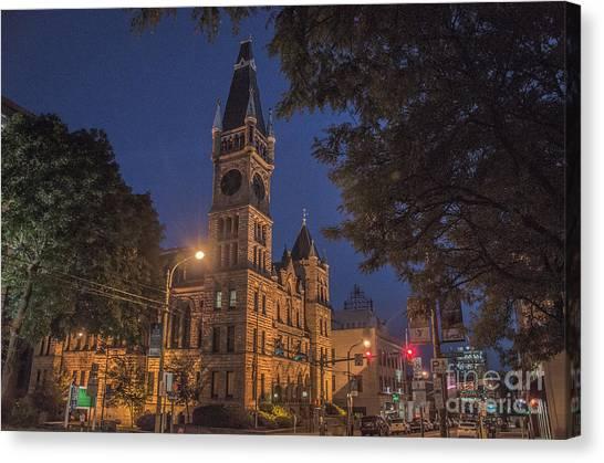 Scranton Pa City Hall Canvas Print