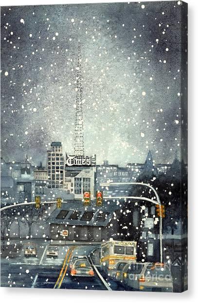 Scranton Times - Auld Lang Syne Canvas Print