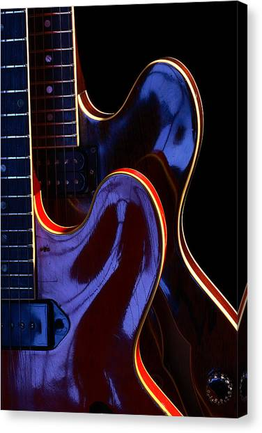 Screaming Guitars Canvas Print by Art Ferrier