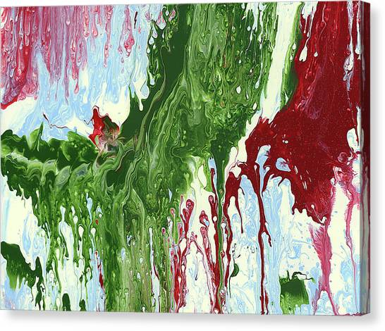 Screaming Canvas Print