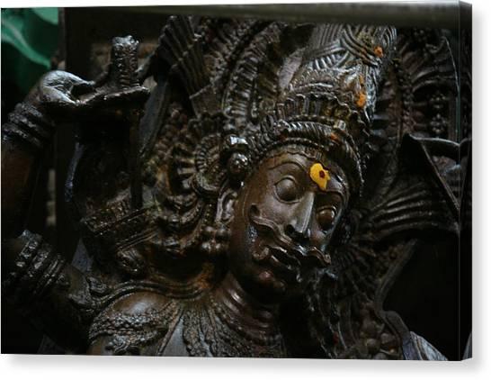 Sculpture Canvas Print by Deepak Pawar