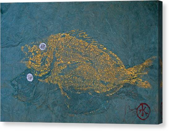 Scup / Porgie Shadow Canvas Print