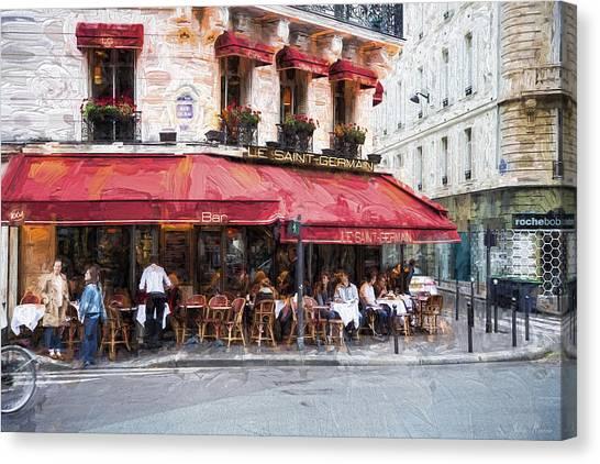 Le Saint Germain Canvas Print