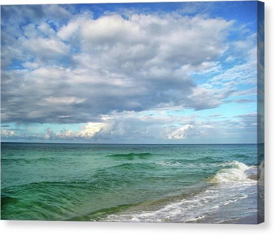 Sea And Sky - Florida Canvas Print