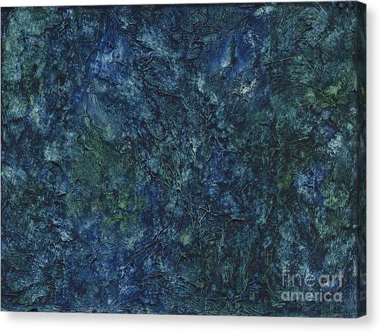 Sea Blue, Sea Green Canvas Print