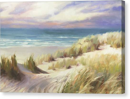 Pacific Coast Canvas Print - Sea Breeze by Steve Henderson