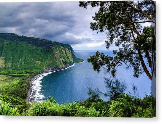 Sea Cliffs Canvas Print