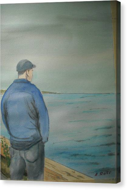 Sea Gaze Canvas Print