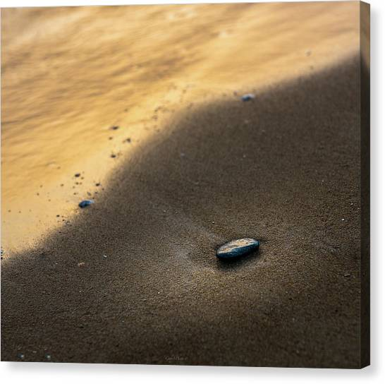 Sea Gold Canvas Print