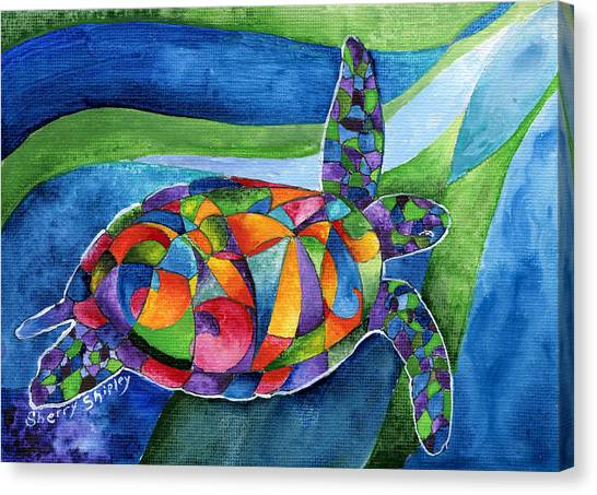 Sea Gypsy Canvas Print