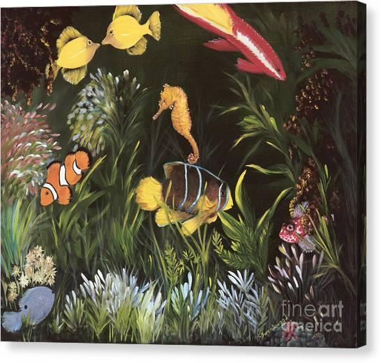 Sea Harmony Canvas Print